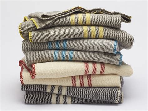Blankets With Pictures Striped Wool Blanket 100 Free Shipping