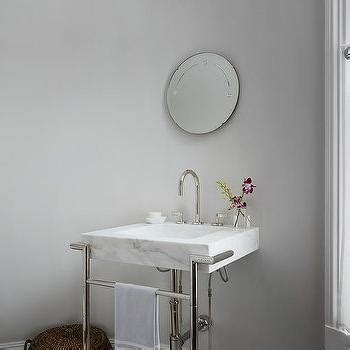 grey vanity contemporary bathroom madison taylor design dunes and duchess single rachel electric sconce