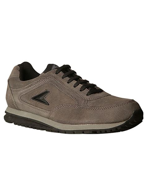 buy power leather sport shoes for snapdeal