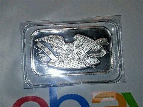 1 Oz 999 Silver Bar Silvertowne - 1 oz 999 silver bar silvertowne eagle shield