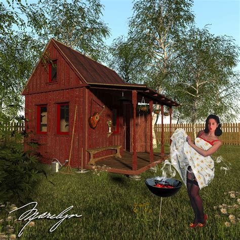 Small Cabin Plans With Porch | small garden shed plans
