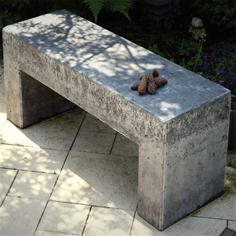 garden benches cement home dzine garden how to make concrete garden bench