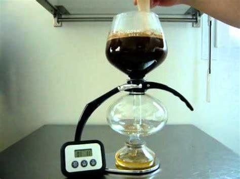 Utilisation de la cafetière à dépression Cona, maxicoffee.com   YouTube