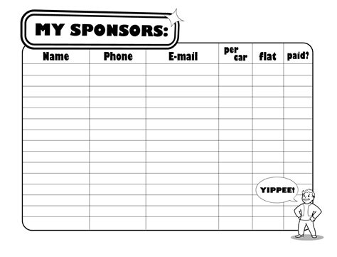 search results for sponsorship template calendar 2015