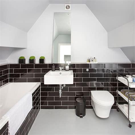 monochrome bathroom ideas makeover monochrome bathroom housetohome co uk