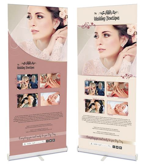 Wedding Roll Up Banner by Preparing For Wedding Exhibitions And How To Make The