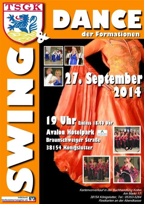 Swing Plakat by Aktuelles Html