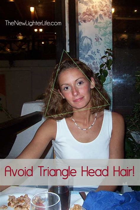 How To Avoid Triangle Hair | haircuts for naturally curly hair part 3 of 3