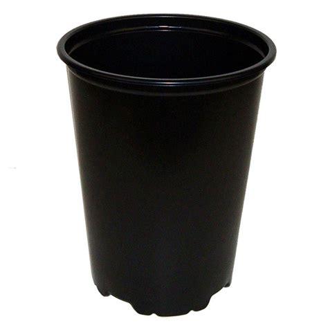 Black Flower Pots Black Plastic Pot 6 Quot
