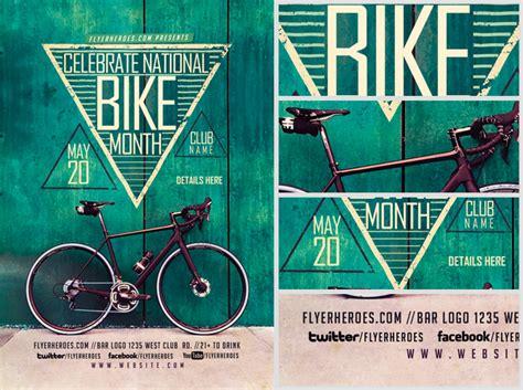 Bike Month Flyer Template Flyerheroes Bike Flyer Template Free