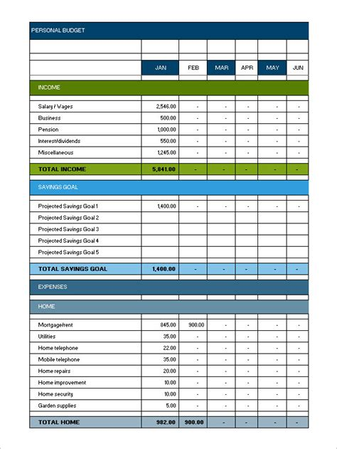 monthly budget template freememo templates word memo templates word