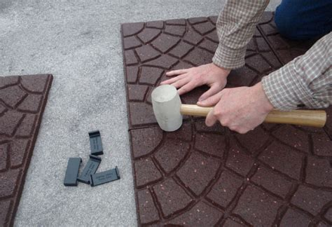 home depot patio tiles recover your patio with envirotile garden club