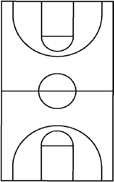 blank basketball template search results for blank basketball court for plays