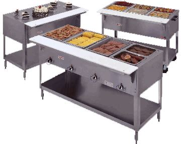 Kitchen Steam Table Mobile Steam Tables