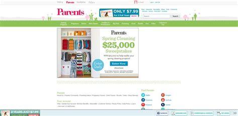 Sweepstakes Eligibility - parents com 25k parents com 25 000 sweepstakes