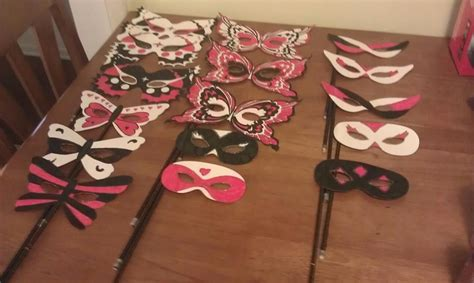 How To Decorate A Mask by Diy Masquerade Masks Can Use Templates From I