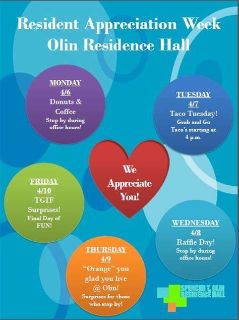 Resident Appreciation Flyer Images Reverse Search Resident Appreciation Week Flyer Template