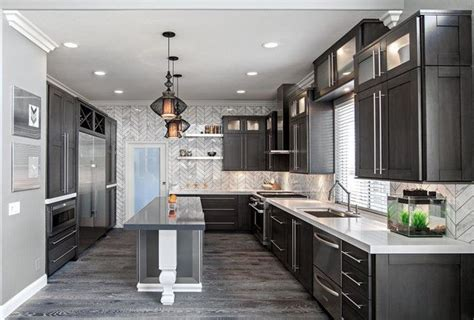 Gray Kitchen Floor Grey Hardwood Floors Ideas Modern Kitchen Interior Design Grey Kitchen Cabinets White