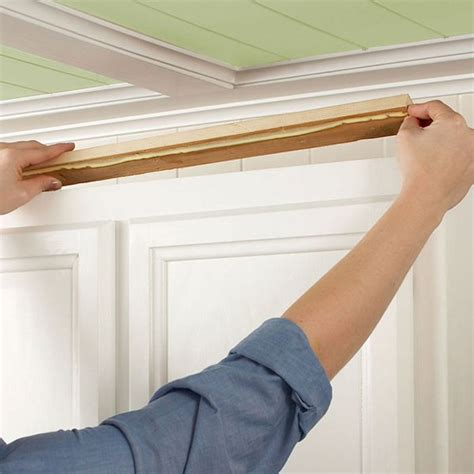 installing crown molding on cabinets how to install crown molding on cabinets for the future