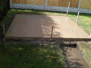 concrete shed base www knbs org