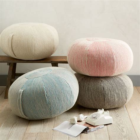 bedroom pouffe add comfort to your home with floor pillows and poufs
