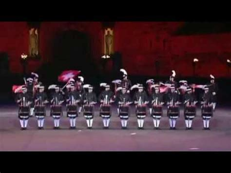 tattoo edinburgh top secret top secret drum corps edinburgh military tattoo youtube