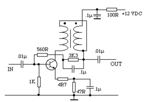 one transistor rf lifier receiver building blocks