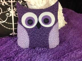 How To Make A Owl Cushion Diy Owl Pillow