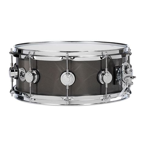 Bass Drum Supporter 18inc By R 3 X dw collector s steel 14 quot x5 5 quot black nickel 171 snare drum