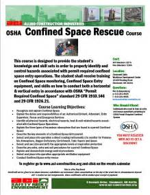 Confined Space Template by Confined Space Rescue December 12 13 2013 Cancelled