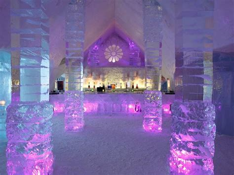 hotel de glace canada 1 day tour to quebec winter carnival and ice hotel tour