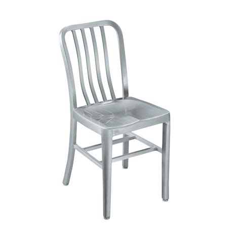 aluminum dining chairs home decorators collection brushed aluminum side
