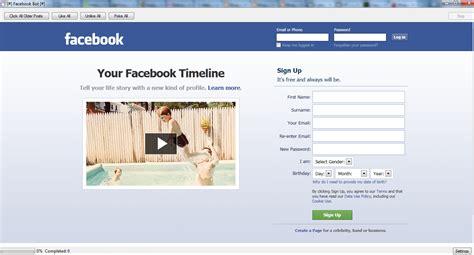 full version of facebook com facebook like bot free download full version