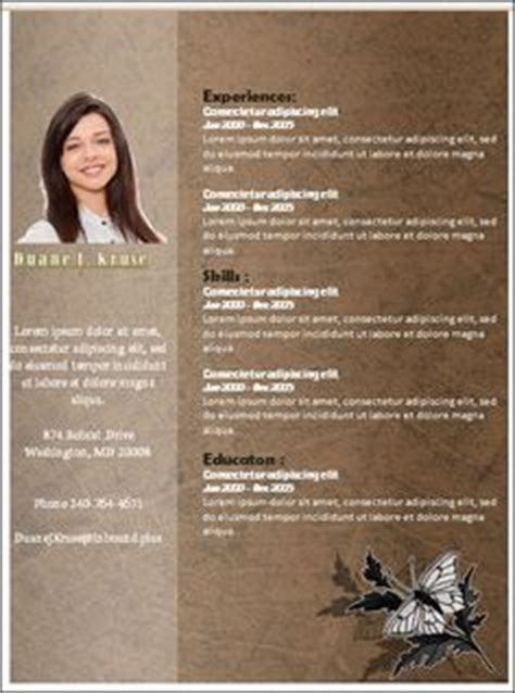 1000 images about resume template microsoft word on