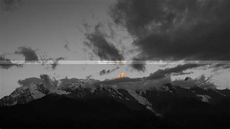 imagenes de paisajes sad mountains sad quote typography digital art selective