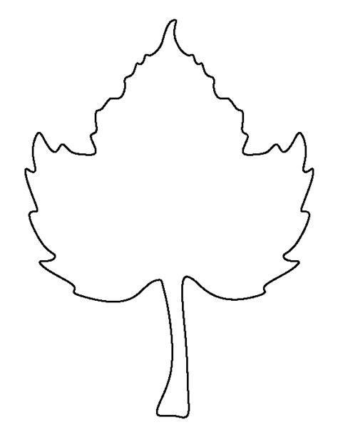 pumpkin leaf template printable pumpkin leaf template