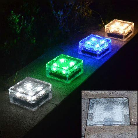 Waterproof Recessed Led Floor Lights Ip68 Outdoor Solar Solar Floor Lights