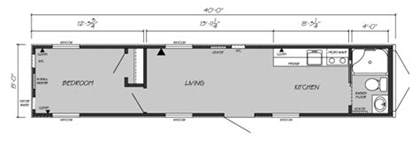 Free Floor Plans For 8x40 Shipping Container container homes tiny homes things i have learned