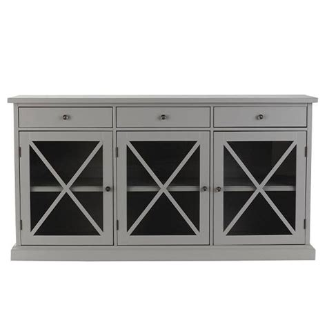 home decorators collection gray furniture the home depot home decorators collection hton grey buffet 1926000310