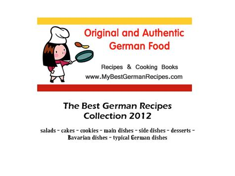das cookbook authentic german cooking books cook books original german recipes