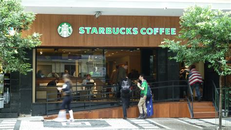 Tumbler Starbuck Sao Paolo starbucks opens new store in copacabana de janeiro the times brazil news