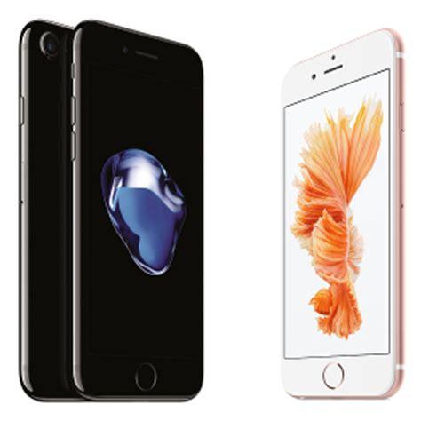 apple iphone 7 vs iphone 6s vs iphone 6: three way specs