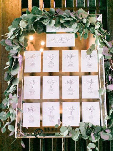 diy floor seating table picture of mirror seating chart with printed paper and