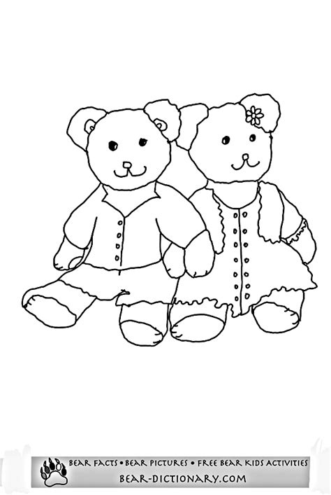 teddy bear coloring pagestobys teddy bear coloring page