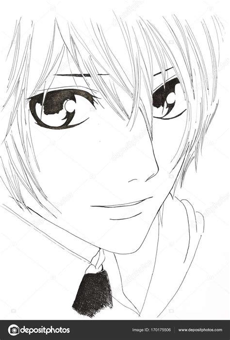 desenho anime desenho no estilo de anime imagem de um homem na foto