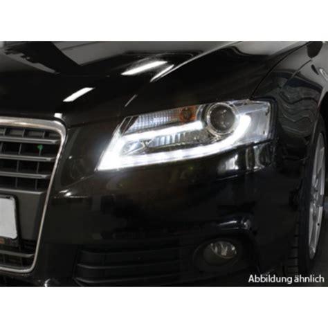 Audi A4 B8 Scheinwerfer by Realdrl Led Tagfahrlicht Scheinwerfer Schwarz F 252 R Audi A4