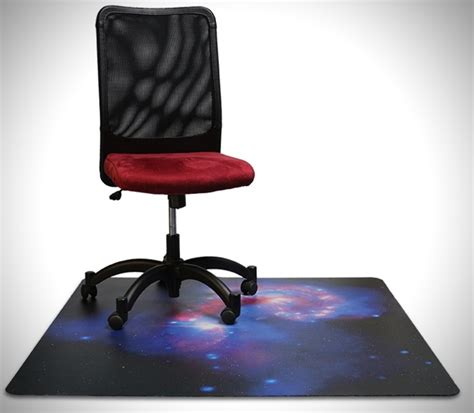 Make Your Own Office Chair Mat by Nasa Galaxy Chair Mats Hiconsumption