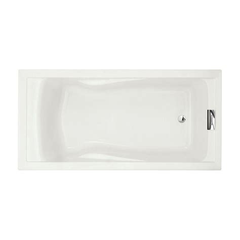 Bathtub American Standard by American Standard Evolution 6 Ft Acrylic Reversible Drain
