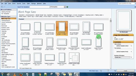 Basic Overview Of Microsoft Publisher Microsoft Office Introduction Youtube Microsoft Office Templates Publisher