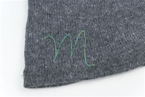embroidery on knitted items how to embroider on knitted or crocheted items
